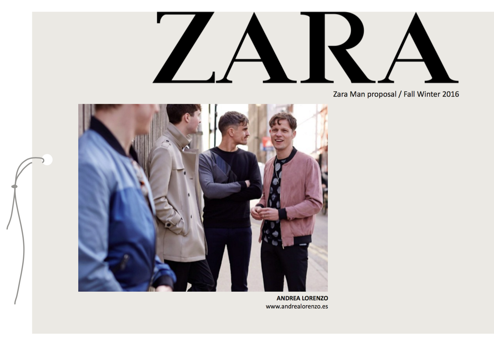 Andrea Lorenzo | Zara man