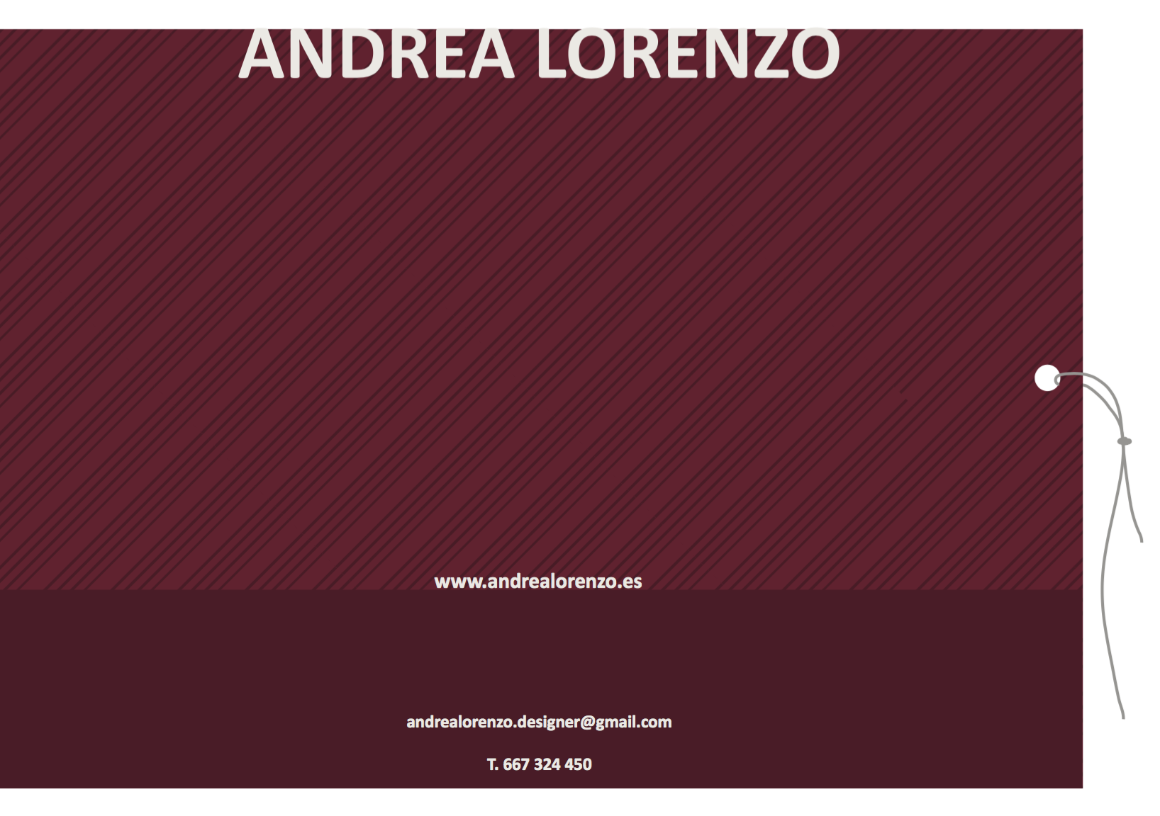 Andrea Lorenzo | Zara man | contact